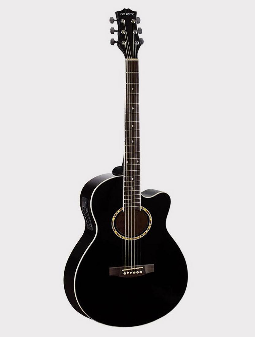 Электроакустическая гитара Colombo LF-401 CEQ BK
