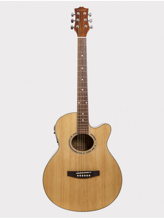 Электроакустическая гитара Colombo LF-401 CEQ N