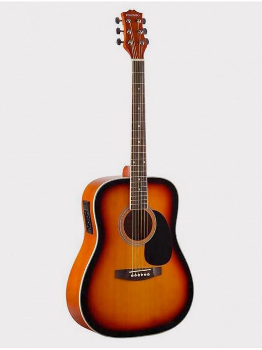 Электроакустическая гитара Colombo LF-4111EQ SB