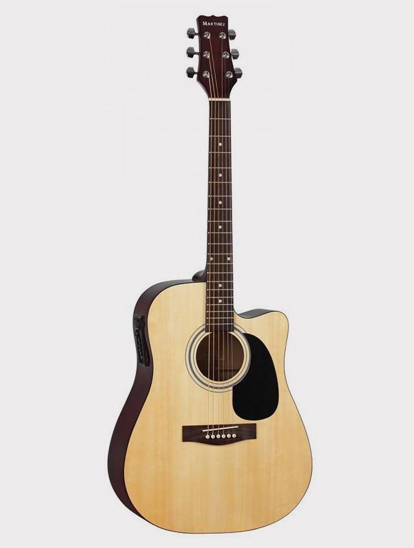 Электроакустическая гитара Martinez FAW-801CEQ