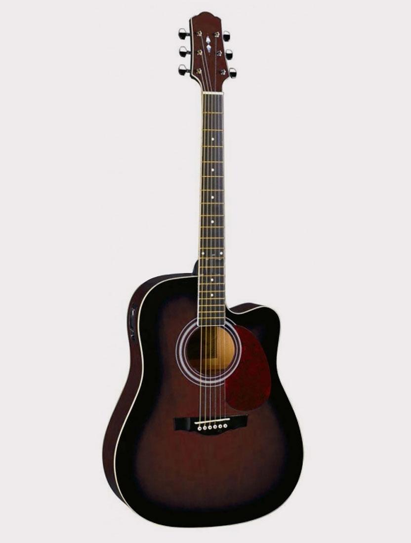 Электроакустическая гитара Naranda DG220CE-WRS