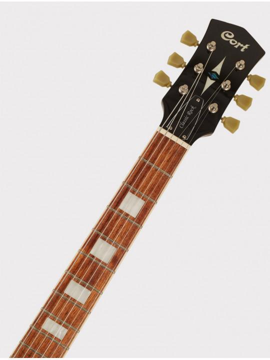 Электрогитара Cort CR250-DBB Classic Rock черно-голубой санберст