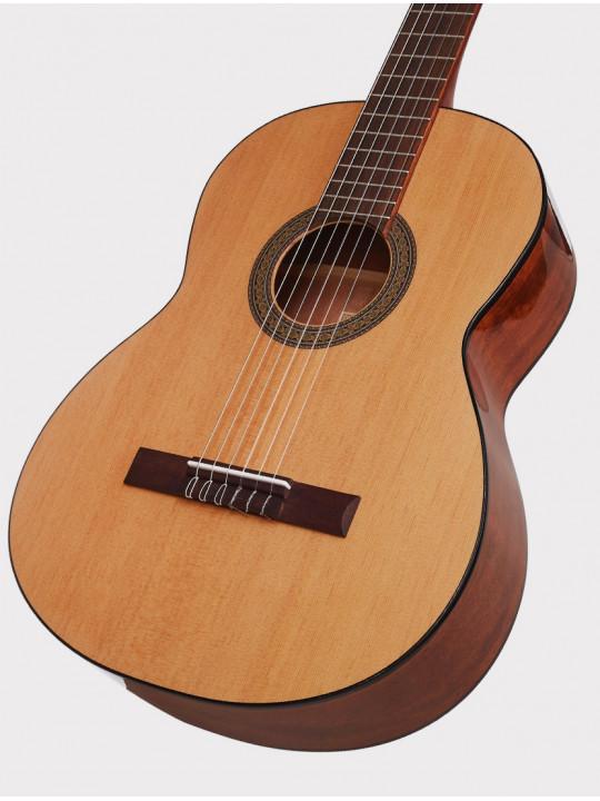 Классическая гитара Cort AC100-SG размер 4/4 глянцевая