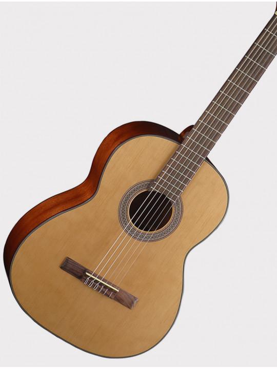 Классическая гитара Cort AC200-NAT Classic Series размер 4/4, верхняя дека - массив ели