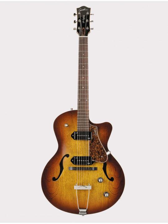 Полуакустическая гитара Godin 5th Avenue CW Kingpin II Cognac с кейсом