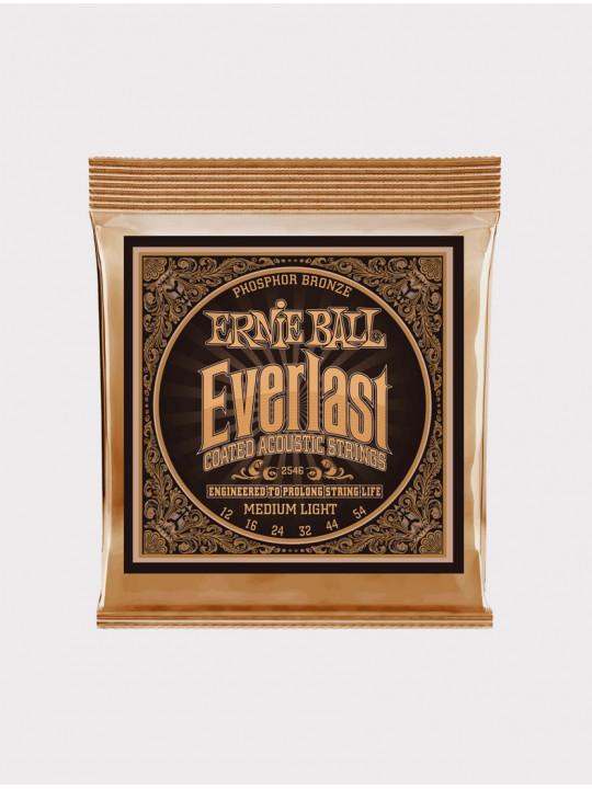 Струны для акустической гитары Ernie Ball 2546 толщина 12-54