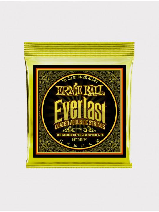 Струны для акустической гитары Ernie Ball 2554 толщина 13-56