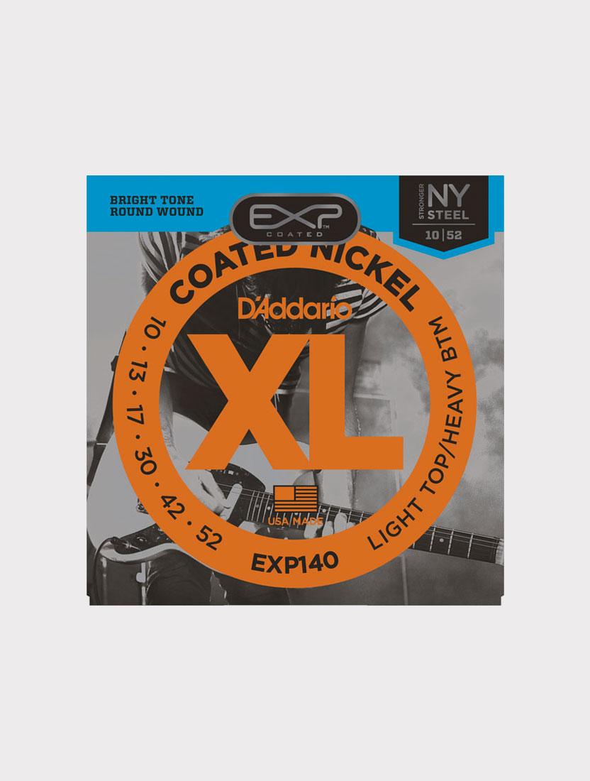 Струны для электрогитары D'Addario EXP140 толщина 10-52