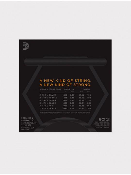 Струны для электрогитары D'Addario NYXL1046 толщина 10-46