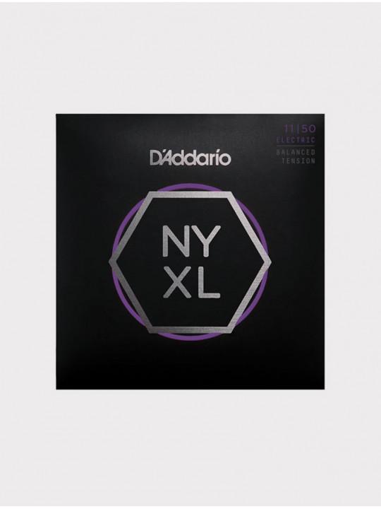 Струны для электрогитары D'Addario NYXL1150BT толщина 11-50