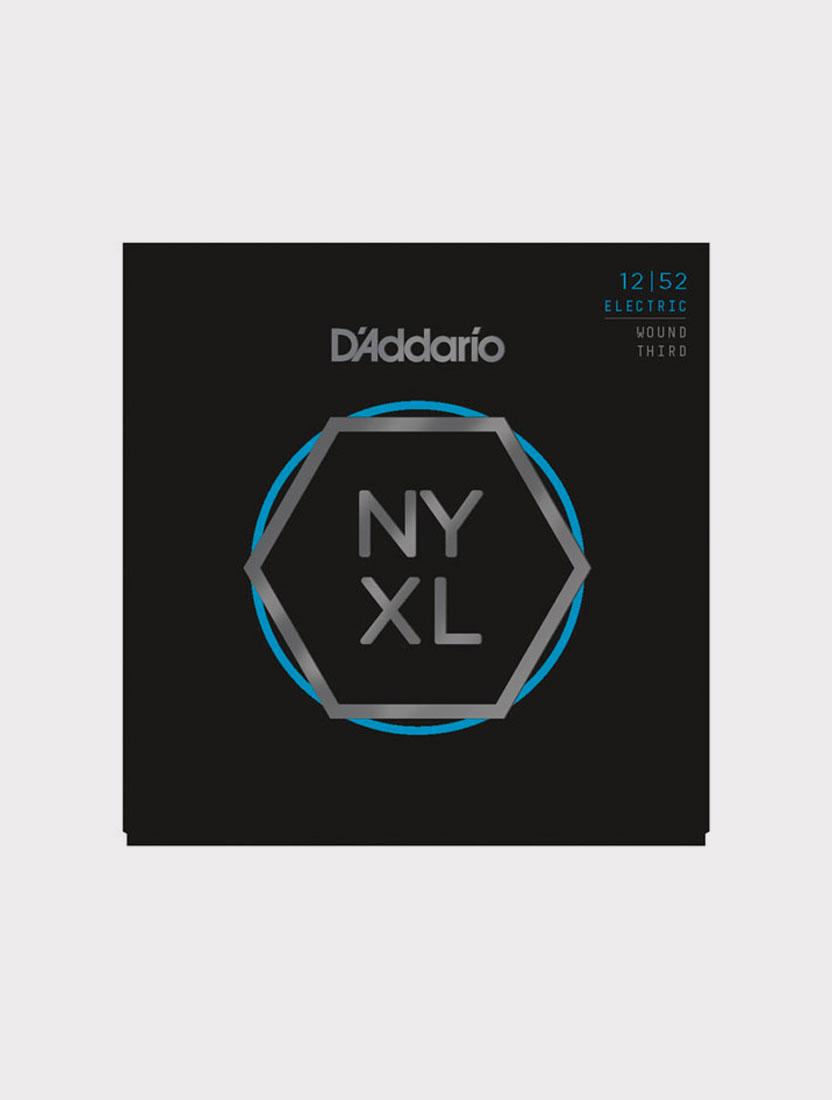Струны для электрогитары D'Addario NYXL1252W толщина 12-52