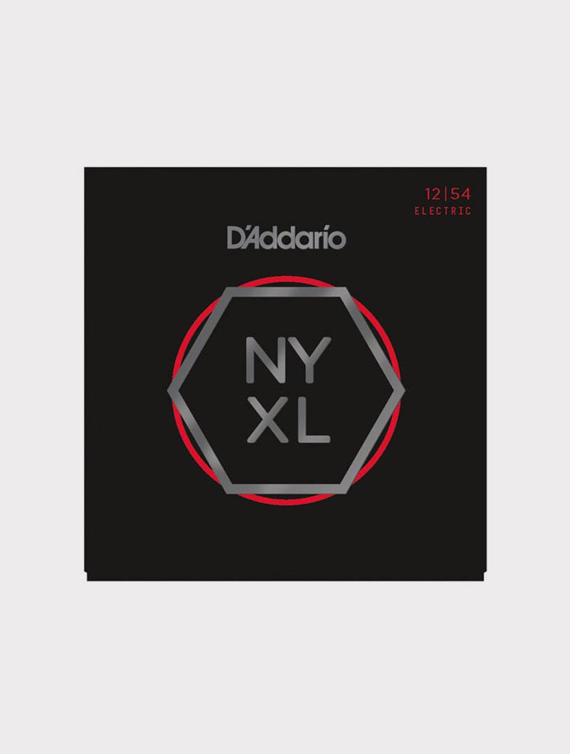 Струны для электрогитары D'Addario NYXL1254 толщина 12-54
