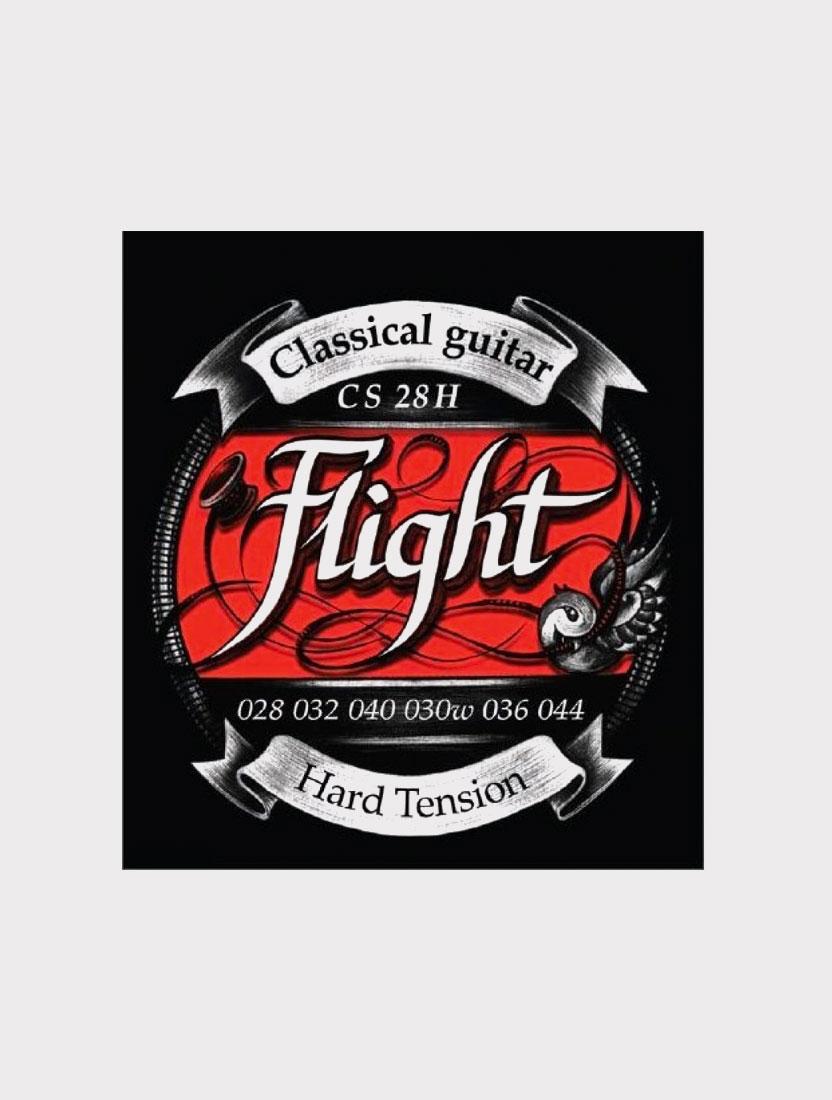 Струны для классической гитары Flight CS28H сильное натяжение