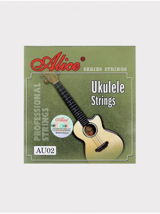 Струны для укулеле сопрано Alice AU02