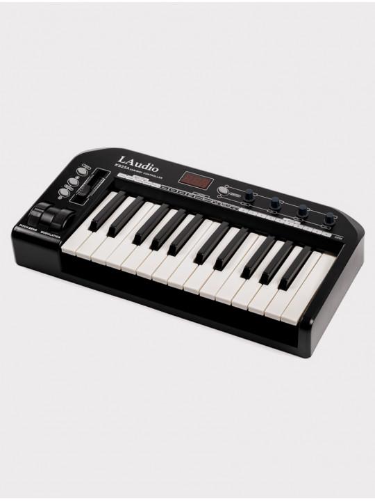 MIDI-контроллер LAudio KS-25A, черный, 25 клавиш