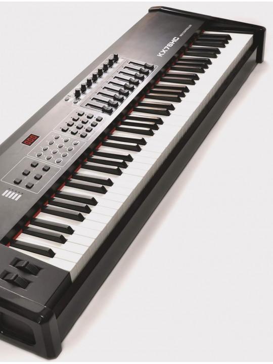 MIDI-контроллер LAudio KX76HC, черный, 76 клавиш