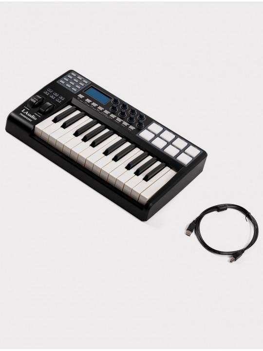 MIDI-контроллер LAudio Panda-25C, черный, 25 клавиш