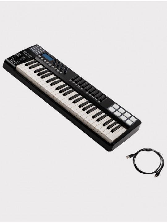 MIDI-контроллер LAudio Panda-49C,  черный, 49 клавиш