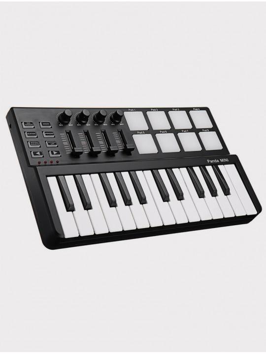 MIDI-контроллер LAudio PandaminiC, черный, 25 клавиш