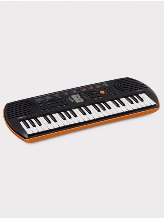 Синтезатор Casio SA-76 оранжевый