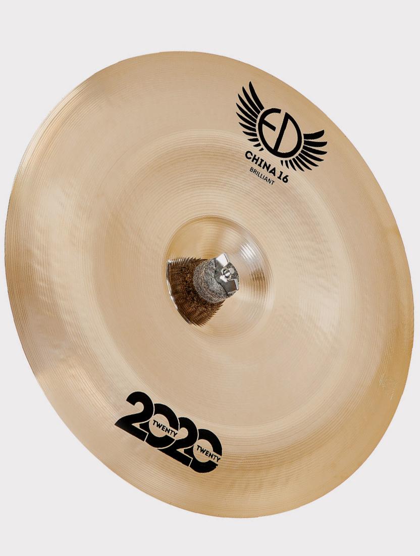 "Тарелка ED Cymbals 2020 (Twenty Twenty) China 16"" Brilliant ED2020CH16BR"