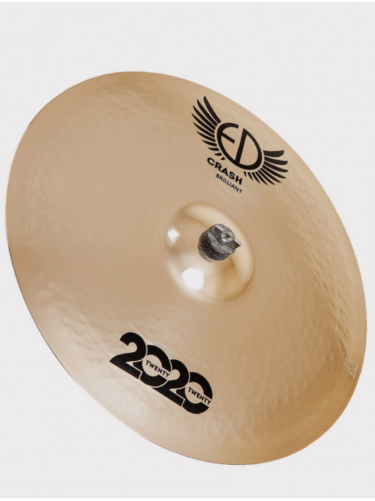 "Тарелка ED Cymbals 2020 (Twenty Twenty) Crash 20"" Brilliant ED2020CR20BR"