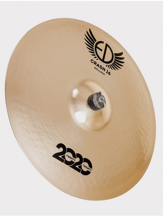 "Тарелка ED Cymbals 2020 (Twenty Twenty) Crash 16"" Brilliant ED2020CR16BR"
