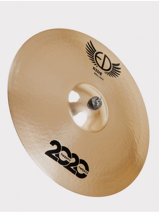 "Тарелка ED Cymbals 2020 (Twenty Twenty) Ride 22"" Brilliant ED2020RI22BR"