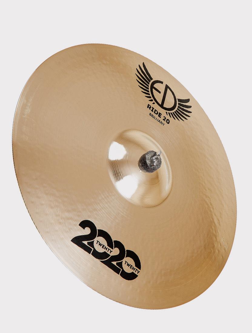 "Тарелка ED Cymbals 2020 (Twenty Twenty) Ride 20"" Brilliant ED2020RI20BR"
