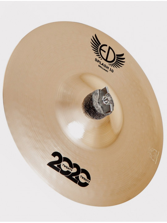 "Тарелка ED Cymbals 2020 (Twenty Twenty) Splash 10"" Brilliant ED2020SP10BR"