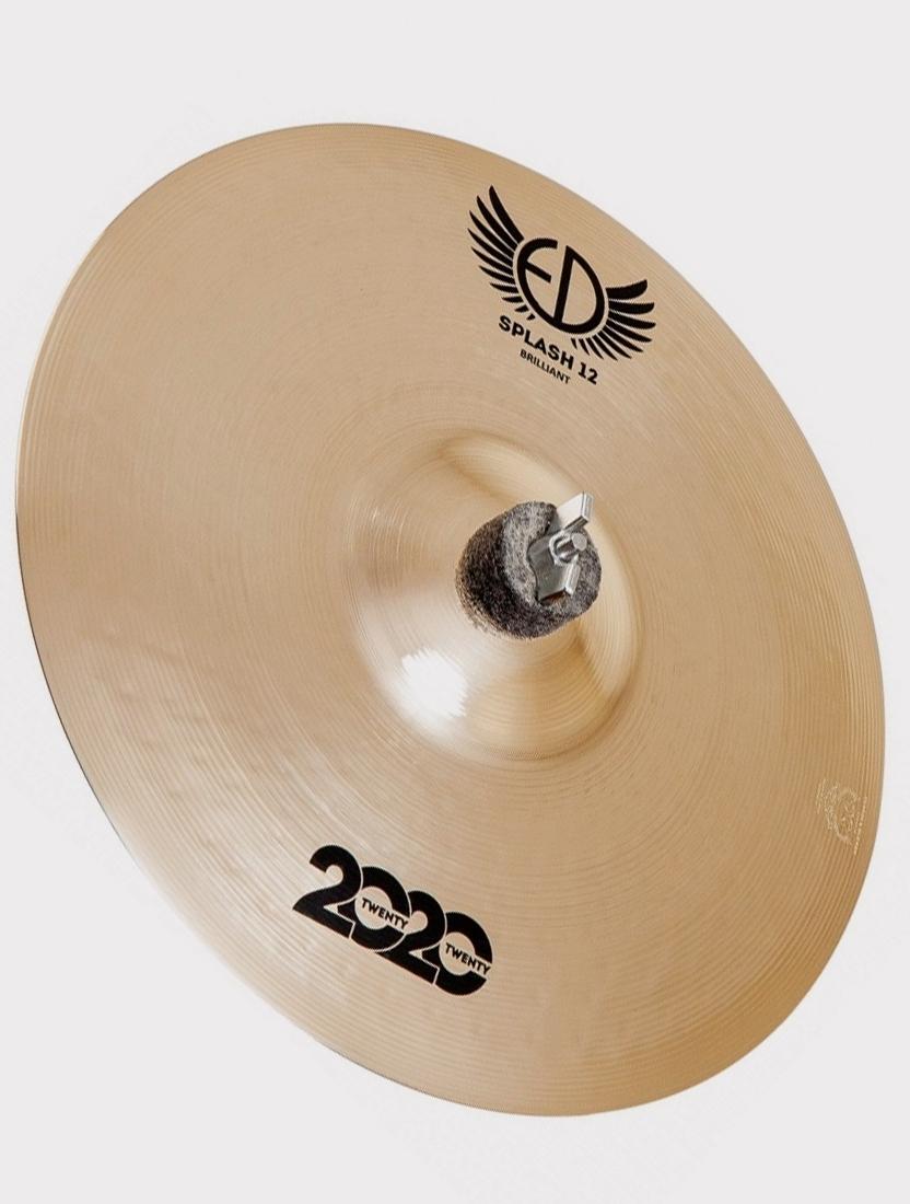 """Тарелка ED Cymbals 2020 (Twenty Twenty) Splash 12"""" Brilliant ED2020SP12BR"""