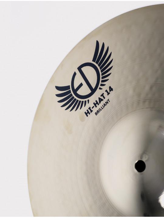 """Тарелки ED Cymbals 2020 (Twenty Twenty) Hi-hat 14"""" ED2020HH14BR"""