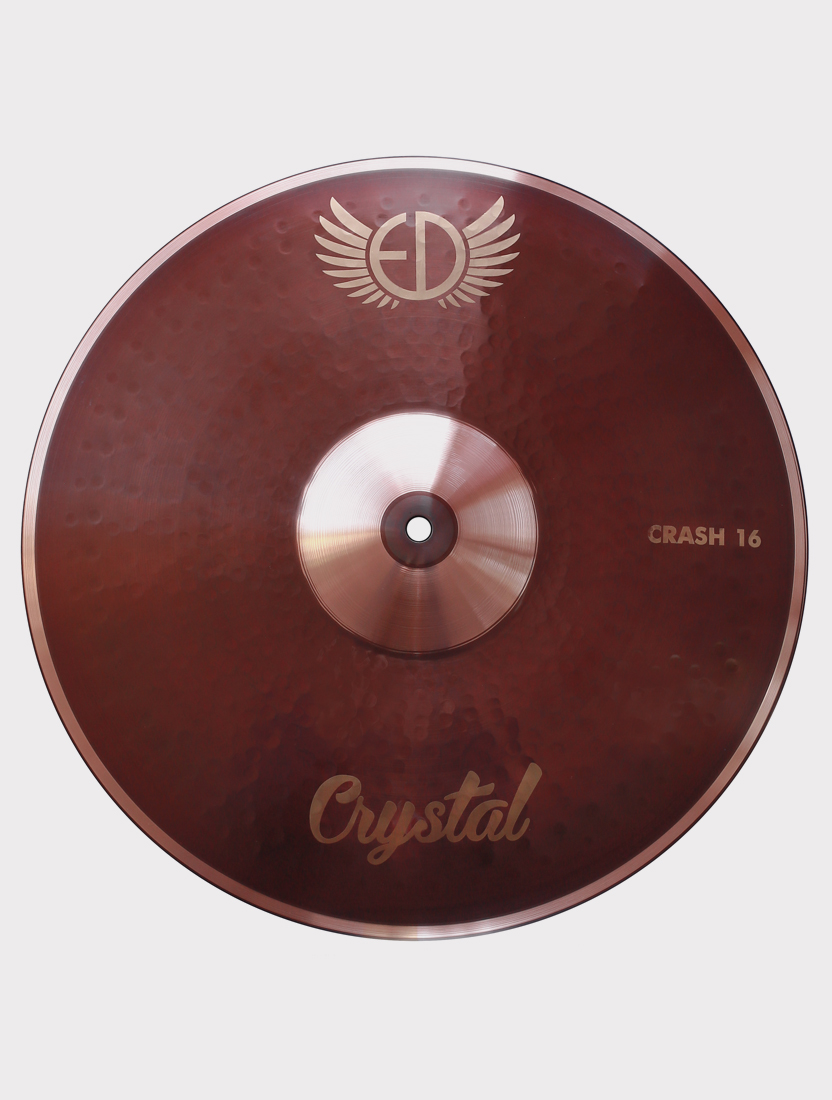 "Тарелка ED Cymbals Crystal Crash 16"" EDCRCR16"
