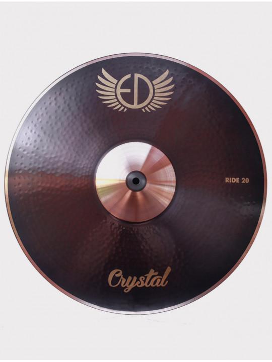 "Тарелка ED Cymbals Crystal Ride 20"" EDCRRI20"