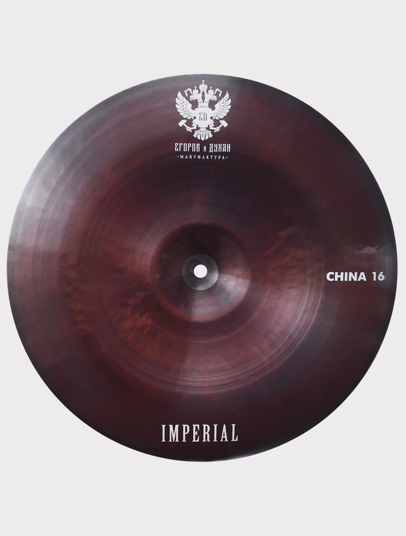 """Тарелка ED Cymbals Imperial China 16"""" EDIMCH16"""