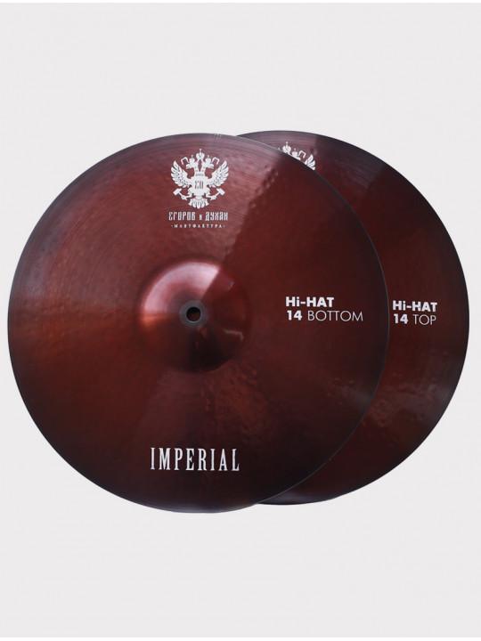 "Тарелки ED Cymbals Imperial Hi-hat 14"" EDIMHH14"