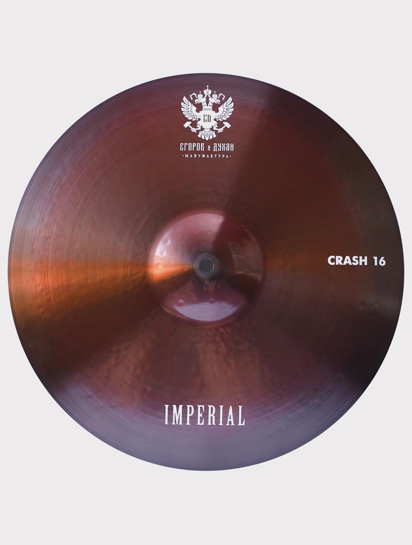 """Тарелка ED Cymbals Imperial Crash 16"""" EDIMCR16"""