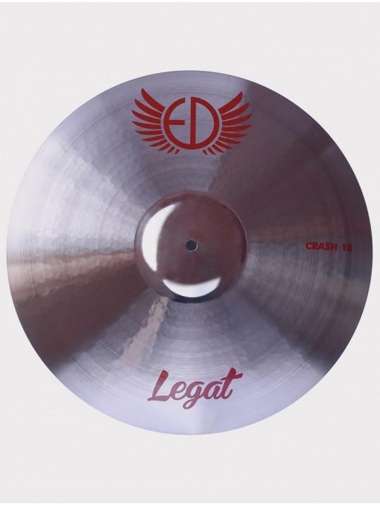 """Тарелка ED Cymbals Legat Crash 18"""" EDLECR18"""