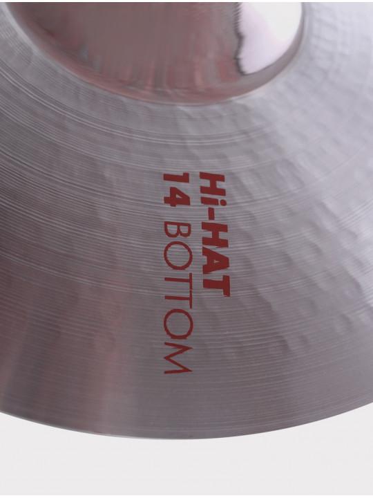 """Тарелки ED Cymbals Legat Hi-hat 14"""" EDLEHH14"""