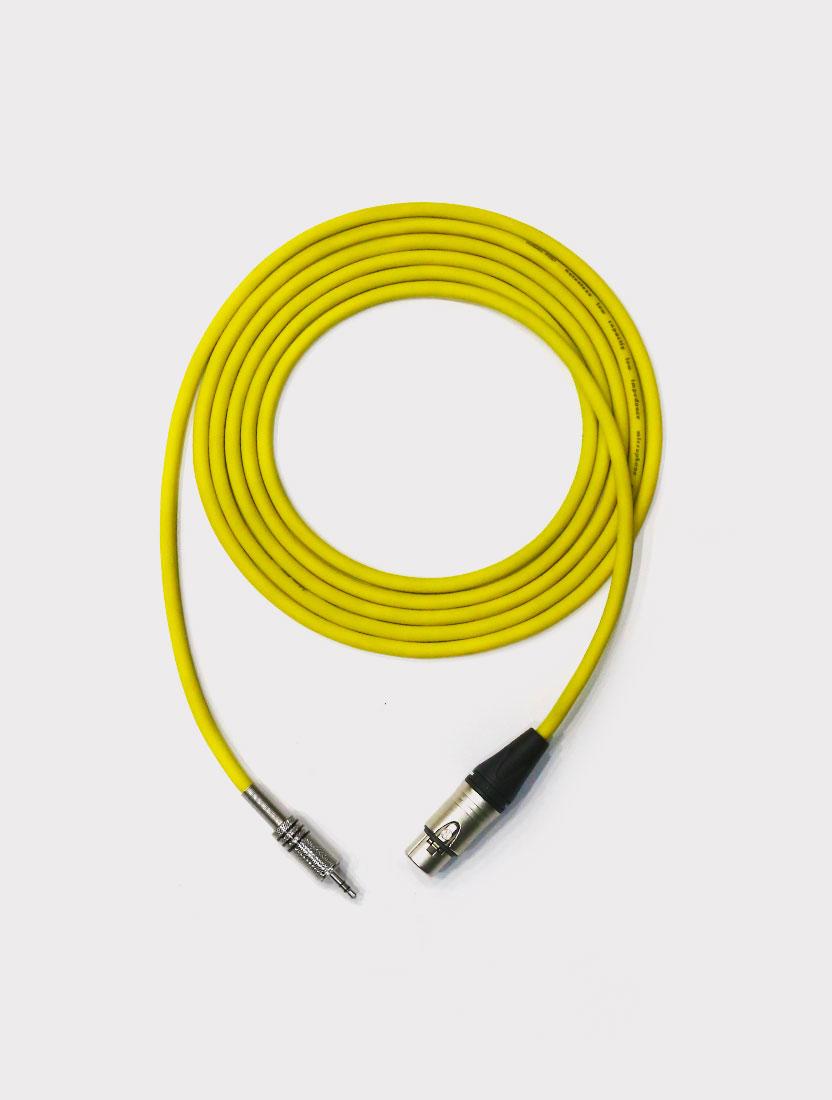 Микрофонный кабель Sone XMJSIN1 XLR female - Stereo Jack 3.5 (1 метр)