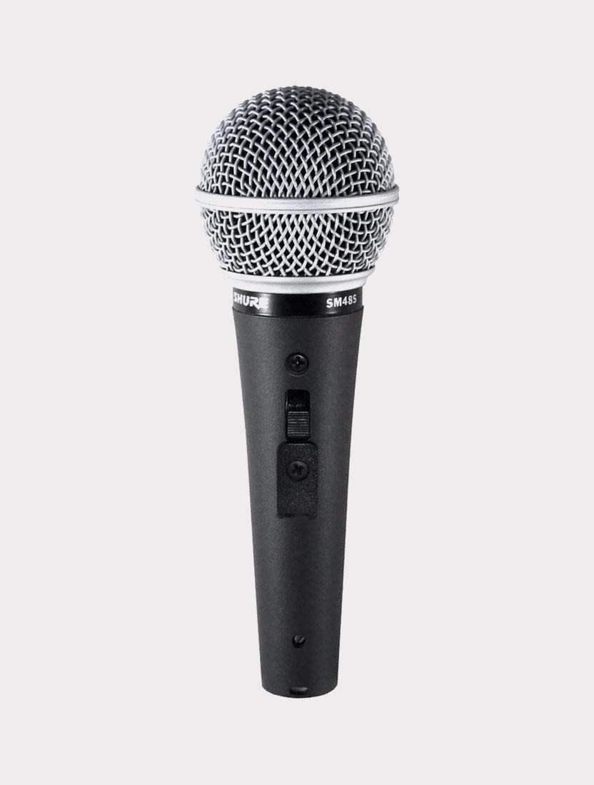 Микрофон динамический Shure SM48S