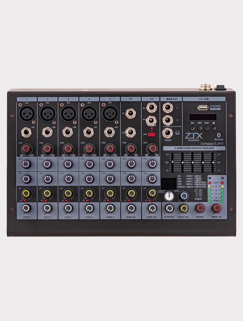 Микшерный пульт ZTX Audio Compact 5.2Fx