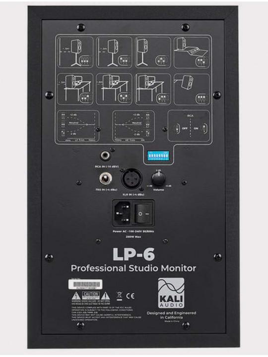 Студийный монитор Kali Audio LP-6, 80 Вт, черный