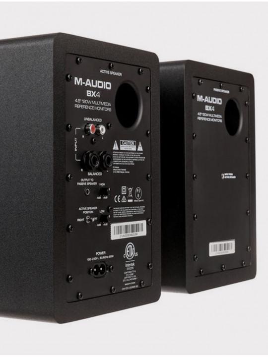 Студийные мониторы M-AUDIO BX4 (пара), черные