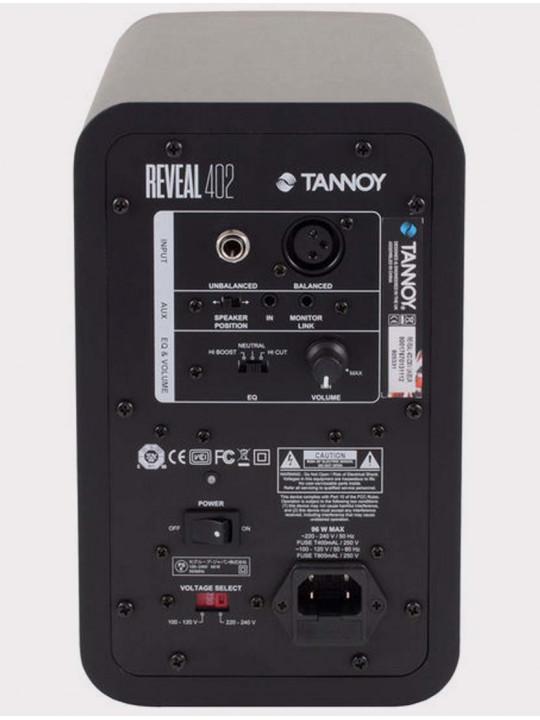 Студийный монитор Tannoy Reveal 402, 50 Вт, черный