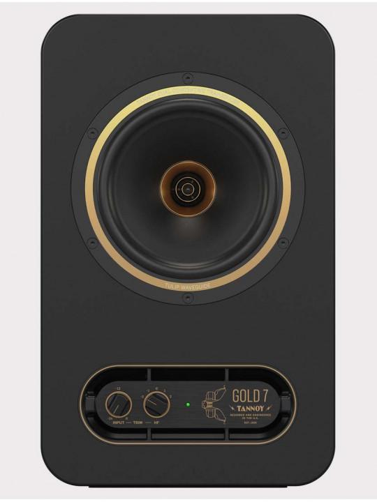 Студийный монитор Tannoy Gold 7, 300 Вт, черный-золото