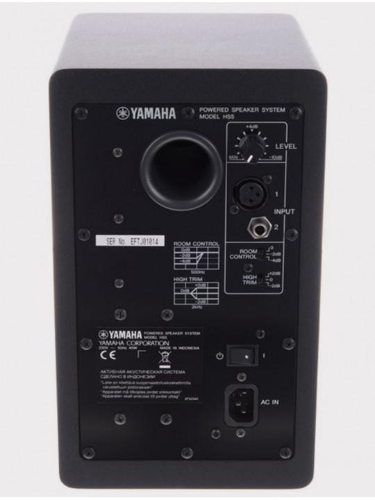 Студийный монитор Yamaha HS5, 70 Вт черный